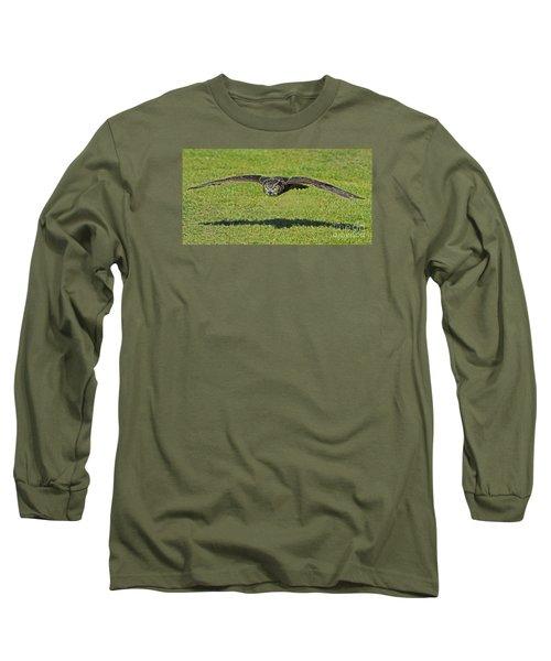Flying Tiger... Long Sleeve T-Shirt by Nina Stavlund