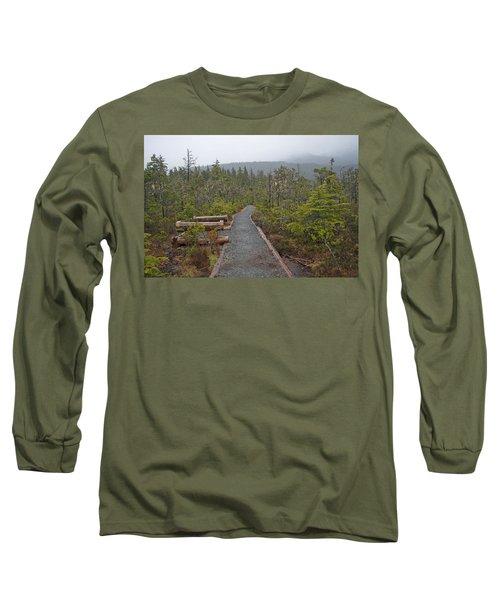 Fog On The Trail Long Sleeve T-Shirt