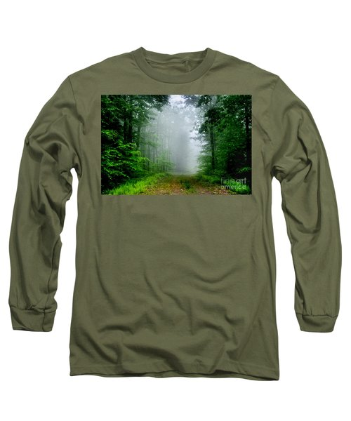 Long Sleeve T-Shirt featuring the photograph Foggy Morning by Debra Fedchin