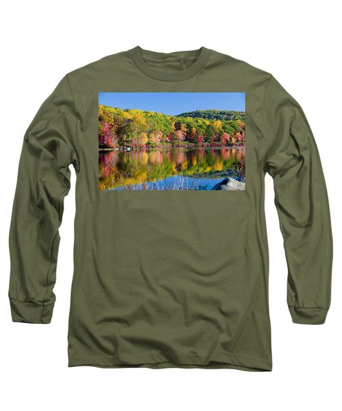Foilage In The Fall Long Sleeve T-Shirt