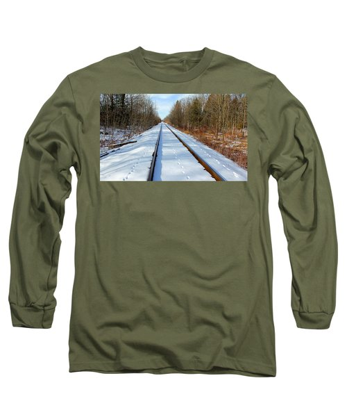 Long Sleeve T-Shirt featuring the photograph Follow Your Own Path by Debbie Oppermann