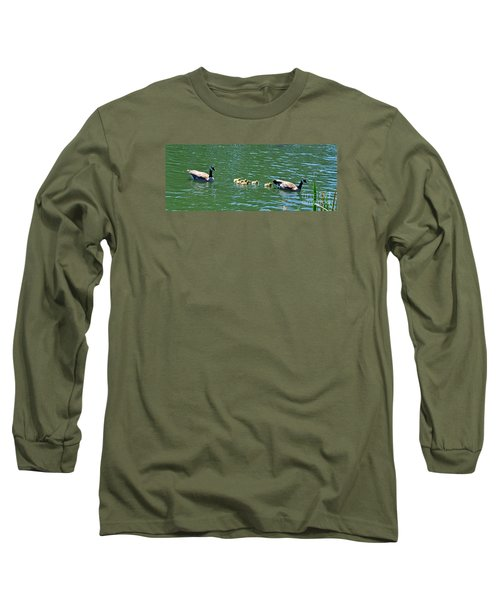 Long Sleeve T-Shirt featuring the photograph Following The Leader In Golden Gate Park by Jim Fitzpatrick