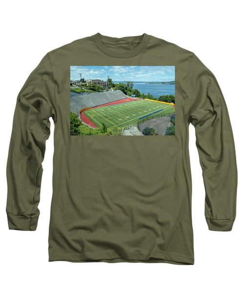 Football Field By The Bay Long Sleeve T-Shirt