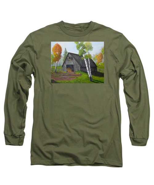 Forest Barn Long Sleeve T-Shirt by Sheri Keith