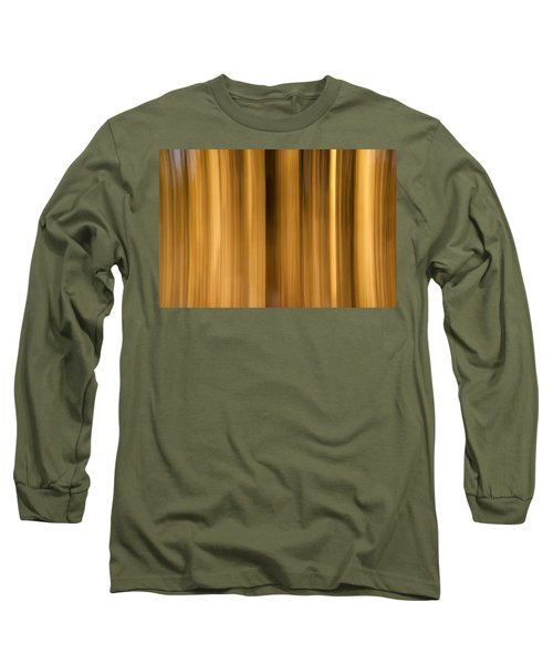 Long Sleeve T-Shirt featuring the photograph Abstract Forest by Davorin Mance