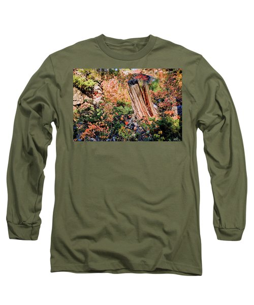 Forest Floral Long Sleeve T-Shirt