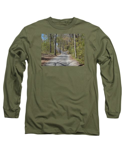Fork In The Road Long Sleeve T-Shirt by Catherine Gagne