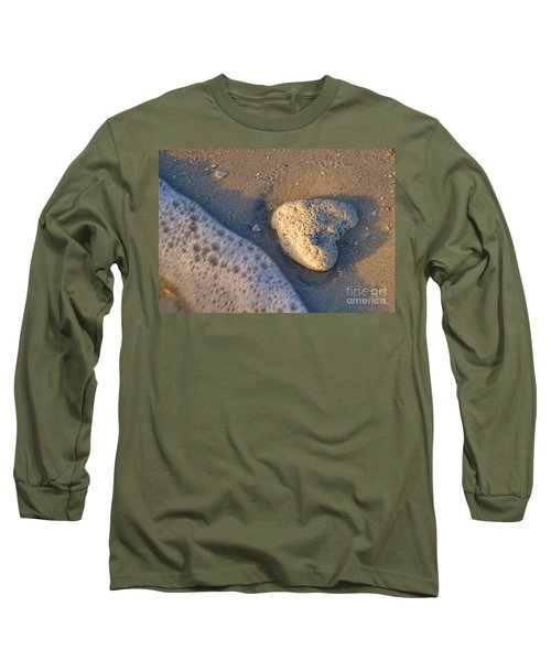 Found Heart Long Sleeve T-Shirt by Peggy Hughes