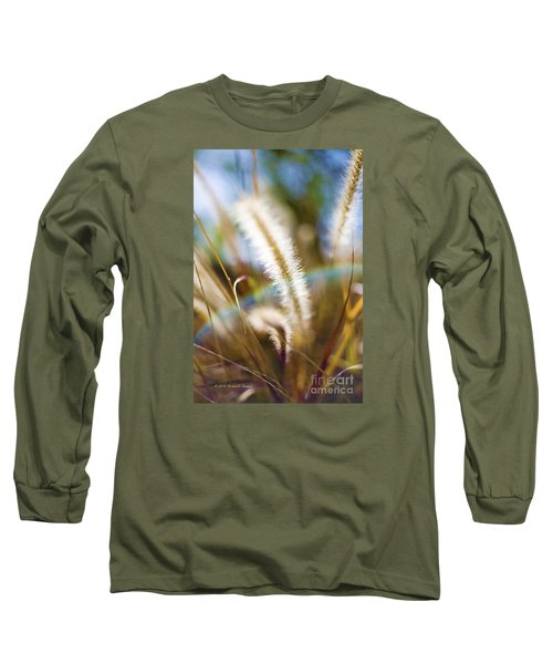 Fountain Grass Long Sleeve T-Shirt