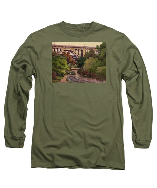 Four Bridges Long Sleeve T-Shirt by Jane Thorpe