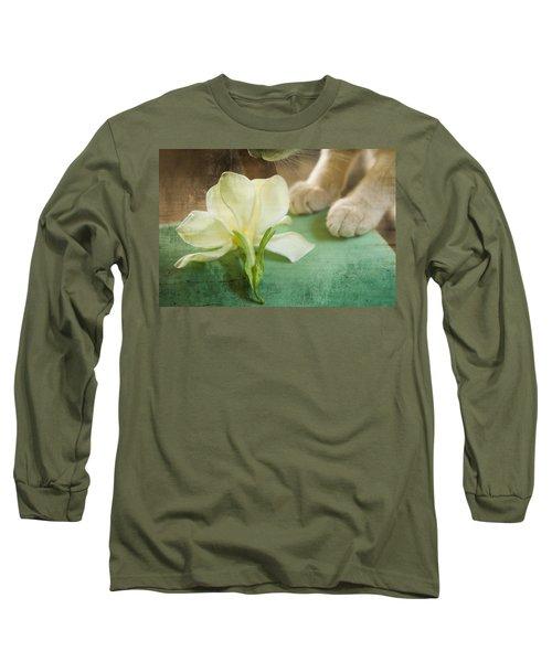 Fragrant Gardenia Long Sleeve T-Shirt