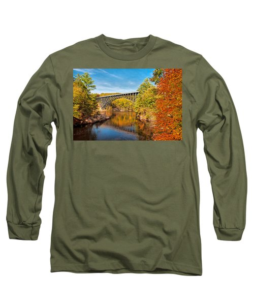 French King Bridge In Autumn Long Sleeve T-Shirt