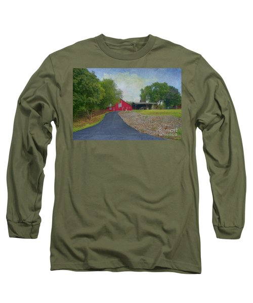 Long Sleeve T-Shirt featuring the photograph Fresh Country Charm by Liane Wright