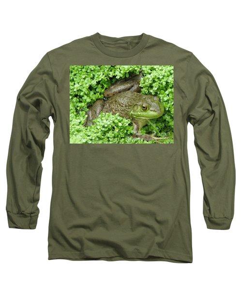 Frog Long Sleeve T-Shirt by DejaVu Designs