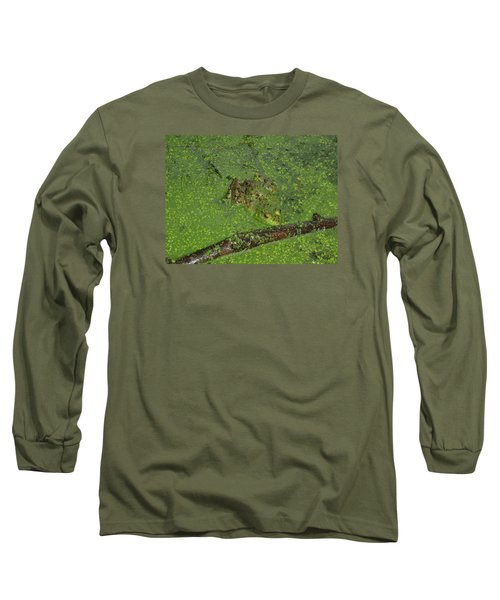 Long Sleeve T-Shirt featuring the photograph Froggie by Robert Nickologianis