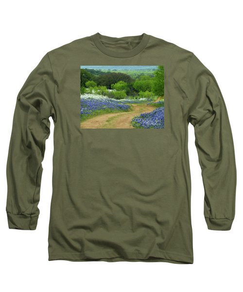From Here To There Long Sleeve T-Shirt by Joe Jake Pratt