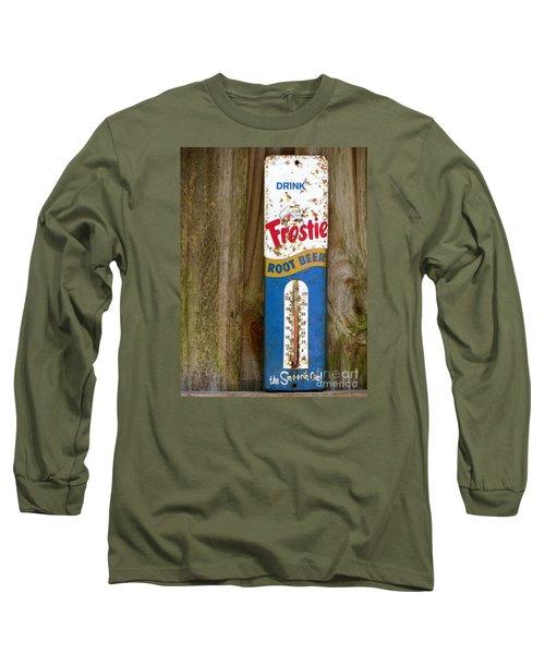 Frostie Root Beer  Long Sleeve T-Shirt by Joy Hardee