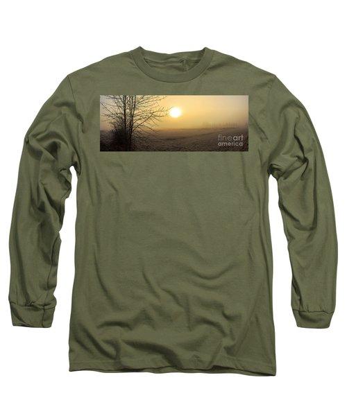 Frosty Sunrise Long Sleeve T-Shirt