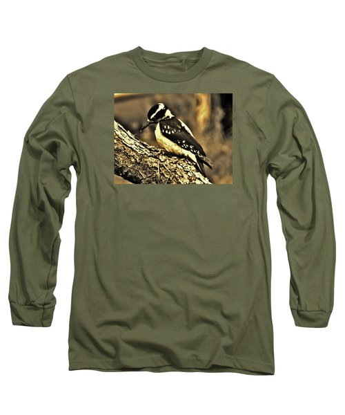 Long Sleeve T-Shirt featuring the photograph Full-color Not Needed by VLee Watson