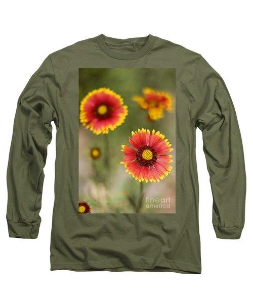 Gaillardia 'arizona Sun' Long Sleeve T-Shirt