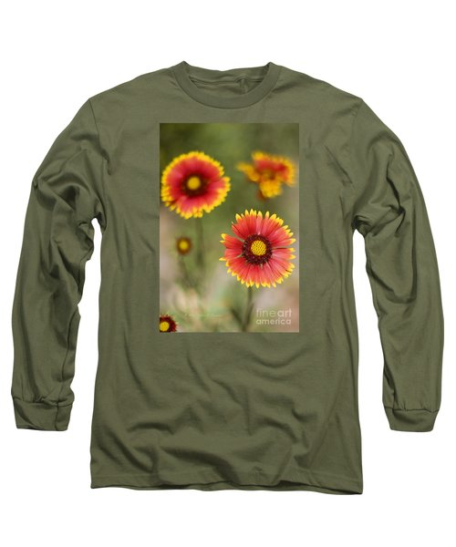Gaillardia 'arizona Sun' Long Sleeve T-Shirt