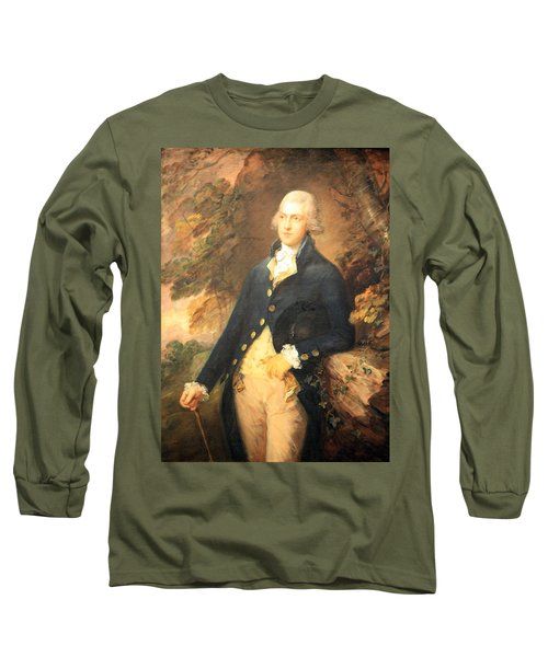 Gainsborough's Francis Bassat -- Lord De Dunstanville Long Sleeve T-Shirt