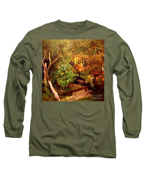 Garden Backyard Corner Long Sleeve T-Shirt