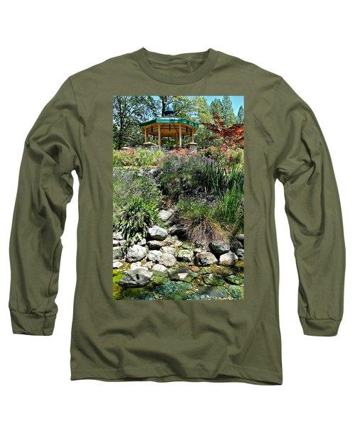 Garden Gazebo Long Sleeve T-Shirt