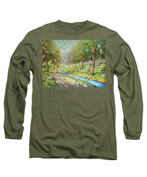 Garden Of Prosperity Long Sleeve T-Shirt