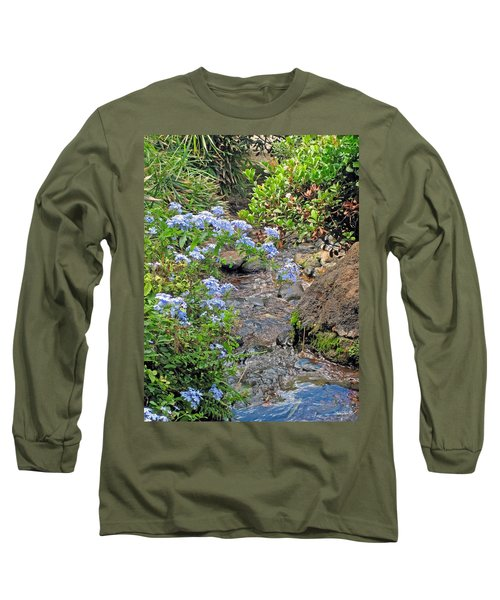 Garden Stream Long Sleeve T-Shirt