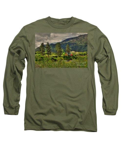 Long Sleeve T-Shirt featuring the photograph Garden Valley by Sam Rosen