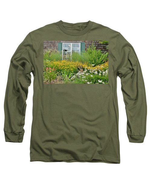 Gardens At The Good Earth Market Long Sleeve T-Shirt