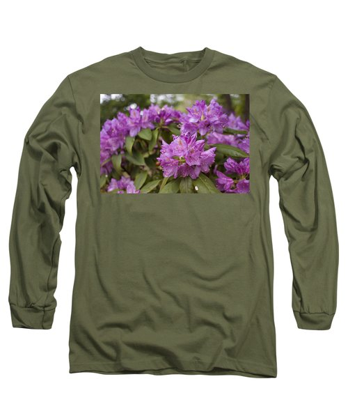 Long Sleeve T-Shirt featuring the photograph Garden's Welcome by Miguel Winterpacht
