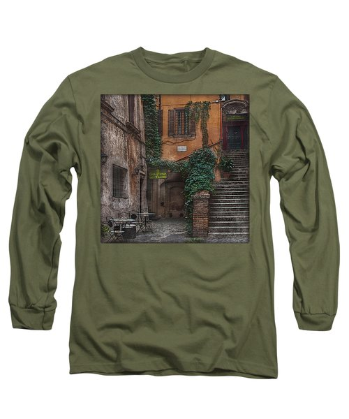 Gelateria Del Teatro Long Sleeve T-Shirt by Hanny Heim