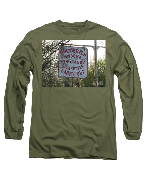 Long Sleeve T-Shirt featuring the photograph General Store by Michael Krek