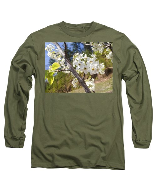 Georgia Blossoms Long Sleeve T-Shirt
