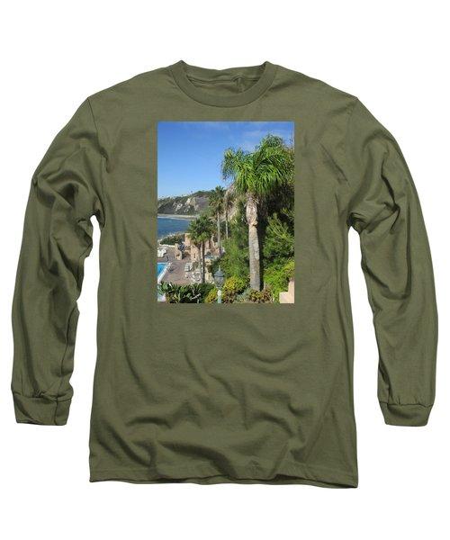 Giant Palm Long Sleeve T-Shirt by Vivien Rhyan