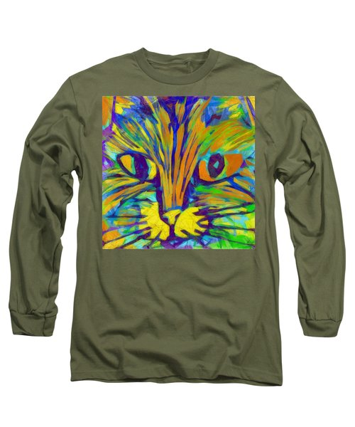 Ginger Kitty Long Sleeve T-Shirt
