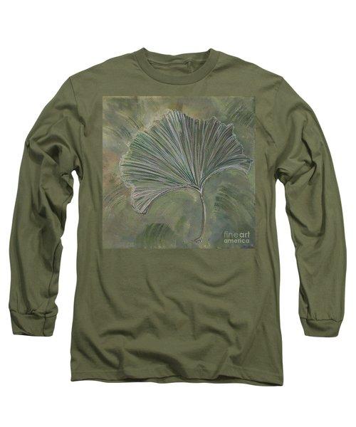 Ginko Leaf Long Sleeve T-Shirt