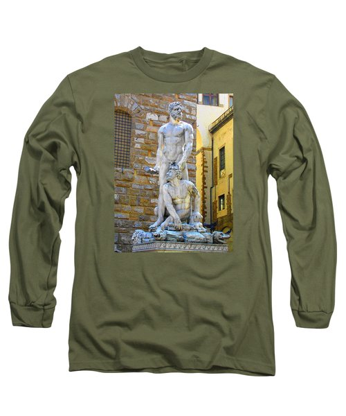 Glance At Hercules And Casus Long Sleeve T-Shirt by Oleg Zavarzin