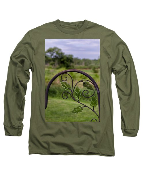 Glass Leaves Long Sleeve T-Shirt