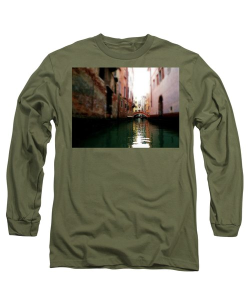 Gliding Along The Canal  Long Sleeve T-Shirt