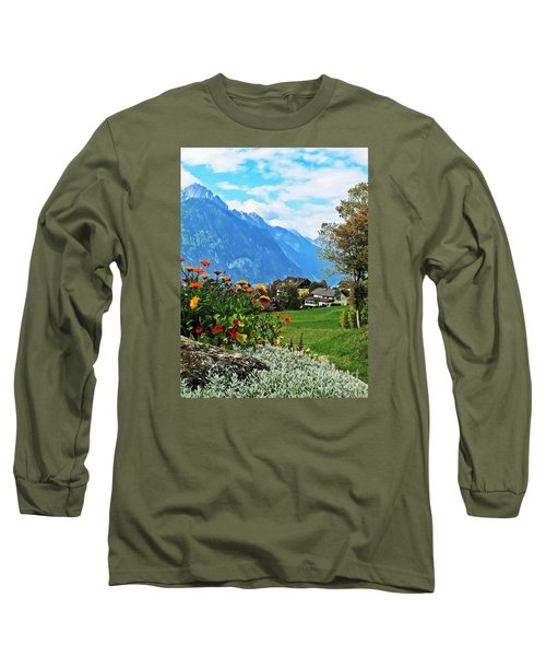 Glorious Alpine Meadow Long Sleeve T-Shirt