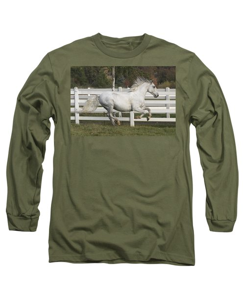 Glorious Gunther Long Sleeve T-Shirt by Wes and Dotty Weber