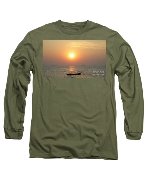 Goa Sunset Long Sleeve T-Shirt