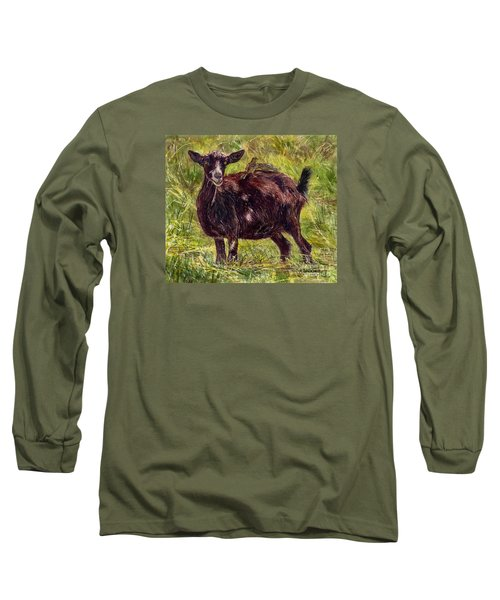 Goat Piggybackers Long Sleeve T-Shirt