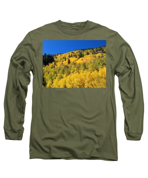 Long Sleeve T-Shirt featuring the photograph Going Gold by Fortunate Findings Shirley Dickerson