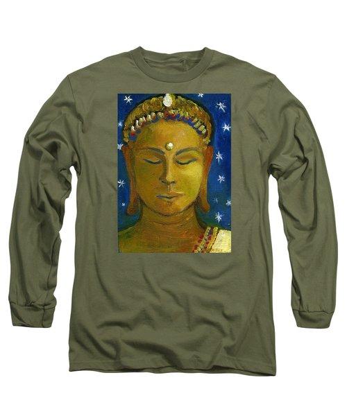 Golden Buddha Long Sleeve T-Shirt