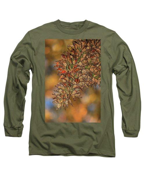 Golden Cluster Long Sleeve T-Shirt