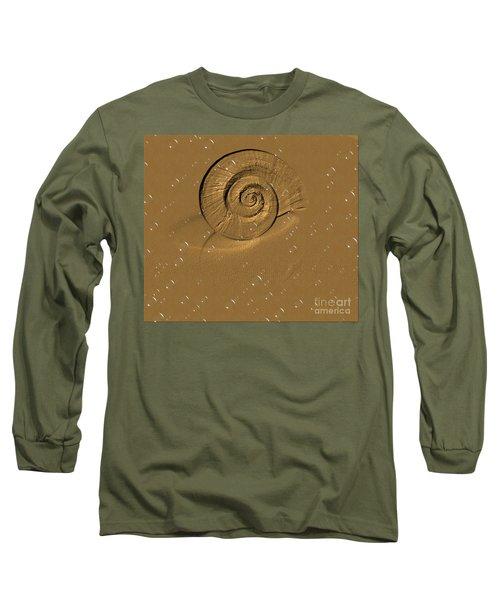 Golden Fantasy. Shell. Abstarct. Beautiful Home Collection 2015 Long Sleeve T-Shirt